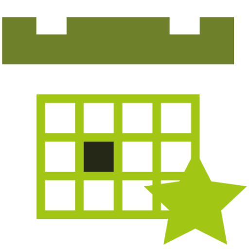 octopus networks calendar icon green